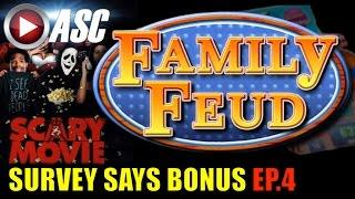 FAMILY FEUD SLOT MACHINE | SURVEY SAYS BONUS (EP.4) Slot Machine Bonus (AGS)