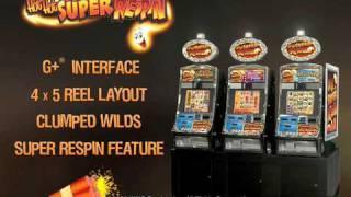 Hot Hot Super Respin™ Video Slot Machines By WMS Gaming