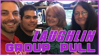 • HIGH LIMIT• Laughlin Group Pull WIN • $9-$15/SPIN • High Limit Slot Pokie Machines EVERY FRIDAY