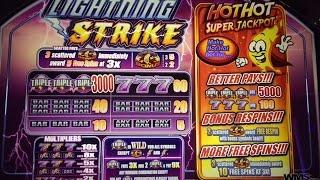•NEW•Lightning Strike•Super Jackpot•Live Play/Slot Play•
