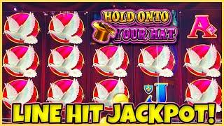Lock It Link Hold Onto Your Hat HANDPAY JACKPOT ★ Slots ★HIGH LIMIT $30 SPINS & RISING FORTUNES Slot