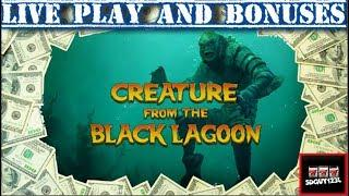 Is Brent Good Luck? Or Bad Luck? Creature of Black Lagoon Slot Machine