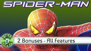Spider Man Slot Machine Bonus All Features