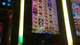 Huge Win - Can Can de Paris Slot Machine - High Kick Bonus - 500 Lines!