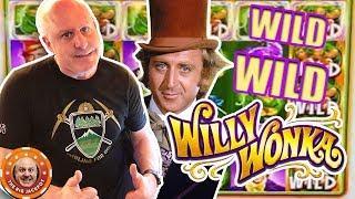 •WILD WILD WILLY WONKA SLOT ACTION! •I Want The Jackpot NOW! •
