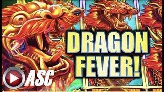 •DRAGON FEVER! MIGHTY CASH• • LONG TENG HU XIAO (Aristocrat) Slot Machine Bonus Nice Win! •REPOST•