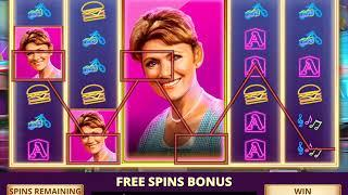 HAPPY DAYS Video Slot Game with a HAPPY DAYS FREE SPIN BONUS