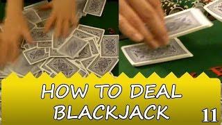 How to Shuffle a Shoe Deck