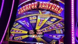• BUFFALO GRAND •BONUS WIN• RETRIGGERS PURE MAGIC! ARISTOCRAT SLOTS!