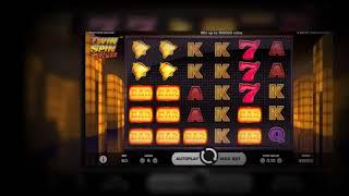 Twin Spin Deluxe Online Slot from NetEnt - Cluster Pays Feature!