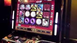 Elvis Top 20 £500 Jackpot + Feature On Lucky Strike £35 Fruit Machine.