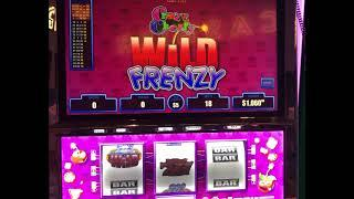 "VGT Slots $90 Spins ""CRAZY CHERRY WILD FRENZY"" Two Live Jackpots"