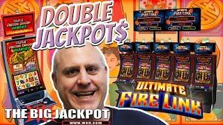 • Double Handpays! • HIGH LIMIT Ultimate Fire Link & Triple Fortune Dragon • | The Big Jackpot