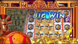 BIG WINS! LIVE PLAY and BONUSES on Plataea Slot Machine - BIG BETS!
