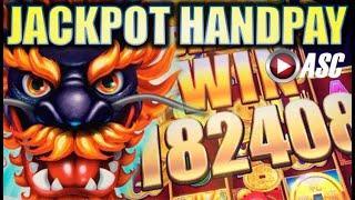 •JACKPOT HANDPAY!• 5 DRAGONS GRAND • HUGE BIG WIN AS IT HAPPENS! Slot Machine Bonus [REPOST]