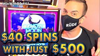 $40 SPINS using only $500 CASH ⋆ Slots ⋆ CHALLENGE TIME!