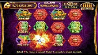 Jackpots on GOLDEN ZODIAC ! NEW SLOT GAME! Multiple Bonuses!