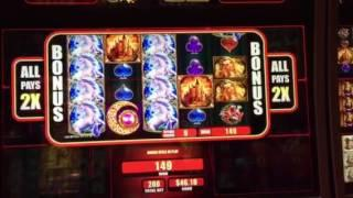 Hot Hot 8 Slot Machine Mystical Unicorn Free Spin Bonus Aria Casino Las Vegas