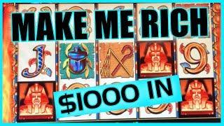 • $1,000•High Limit Slots • San Manuel Casino• • Slot Fruit Machine Pokies w Brian Christopher