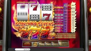 Scorching Sevens• free slots machine by Saucify preview at Slotozilla.com
