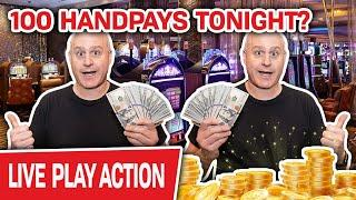 ⋆ Slots ⋆ Holy MOLY! How Many Handpays Tonight? ⋆ Slots ⋆ My Goal Is 100 of Them! But Can We Do It?