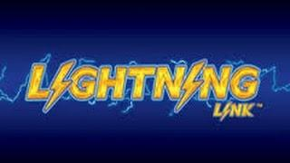 HUGE WIN Lightning Link Slot machine spin and Hold Jackpot Progresive 10c denom