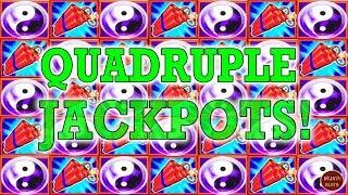 WE HIT 4 JACKPOTS ON OUR FAITHFUL HIGH LIMIT SLOT MACHINES!