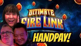 JACKPOT HANDPAY FREE GAME BONUS! WE ARE ON FIRE!