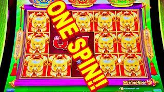 ONE SPIN DOUBLE!!!! * AMAZING COW LIGHTNING LINK BONUS!!! - New Las Vegas Casino Slot Machine Win