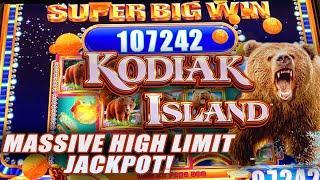 MASSIVE BONUS JACKPOT! ★ Slots ★ KODIAK ISLAND ★ Slots ★ $50 MAX BET SPINS ★ Slots ★ HIGH LIMIT HAND