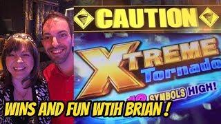 XTREME FUN WITH BRIAN! QUICK SPIN-XTREME TORNADO & TIKI FIRE