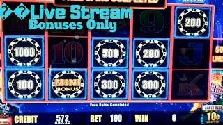Gold Bonanza, Buffalo Gold,High Limit Lighting Link,Wheel Of Fortune & 88 Fortunes Slot Bonuses