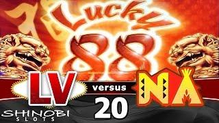 Las Vegas vs Native American Casinos Episode 20: Lucky 88 Slot Machine
