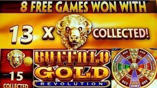 •Buffalo Gold Revolution• ALL 15 BUFFALO HEADS MASSIVE WIN•