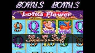 Lotus Flower High Limit Amazing session • Slots N-Stuff