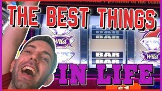 • • The BEST Things In Life • Buffalo Grand + Wonka + Titanic • Brian Christopher Slot Machines