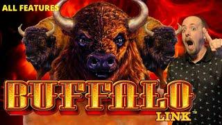 ⋆ Slots ⋆BUFFALO LINK!! I LANDED ALL THE FEATURES!⋆ Slots ⋆ Amazing Wins!