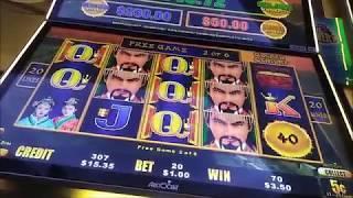 dragon cash bonuses $1.50 huge $1.25 huge WINS Echucas Finest wins