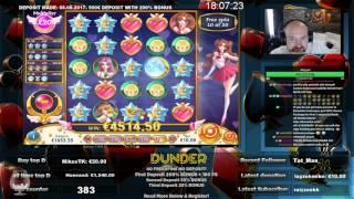 HUGE WIN AT MOON PRINCESS SLOT!!!