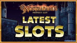 LATEST SLOTS   Nostradamus Prophecy Slot, Bound to Be Lucky & Burm 'em Up