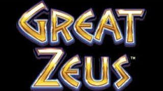 WMS - Great Zeus : 2 bonuses on a  $1.20 bet