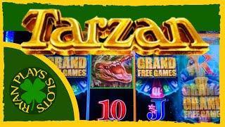 Tarzan Grand Slot Machine | Bonus with a Retrigger? Yes!!