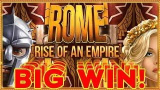 • BIG WIN! ROME RISE OF AN EMPIRE & Pillars of Hercules BOOKIES SLOT! •