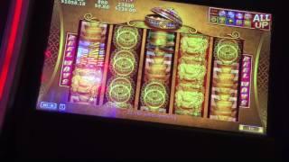 88 Fortunes Slot Machine Bonus BIG WIN Retrigger Max Bet $8.80 Aria Las Vegas pokie