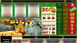 Big 5  ™ Free Slots Machine Game Preview By Slotozilla.com