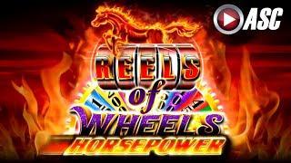 *NEW* HORSEPOWER REELS OF WHEELS | Ainsworth - Slot Machine Bonus