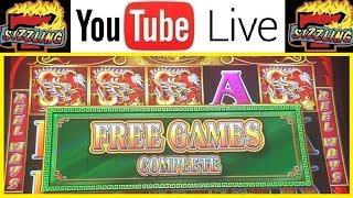 MASSIVE 5 TREASURES WIN on 88 CENTS! High Limit KONAMI Machine Sizzling Slot Jackpots CASINO Videos