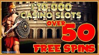 • OMG 50+ FREE SPINS on £10,000 Jackpot Spartacus?!!