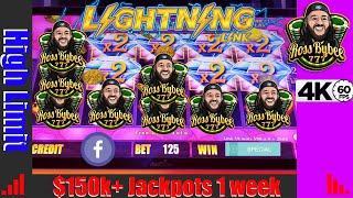ADD SOME MORE!! High Limit Lightning Link Heart Throb $150k week  part 2 Epic Final
