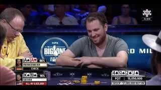 One of the best hands of the 1M$ BIG ONE tournament